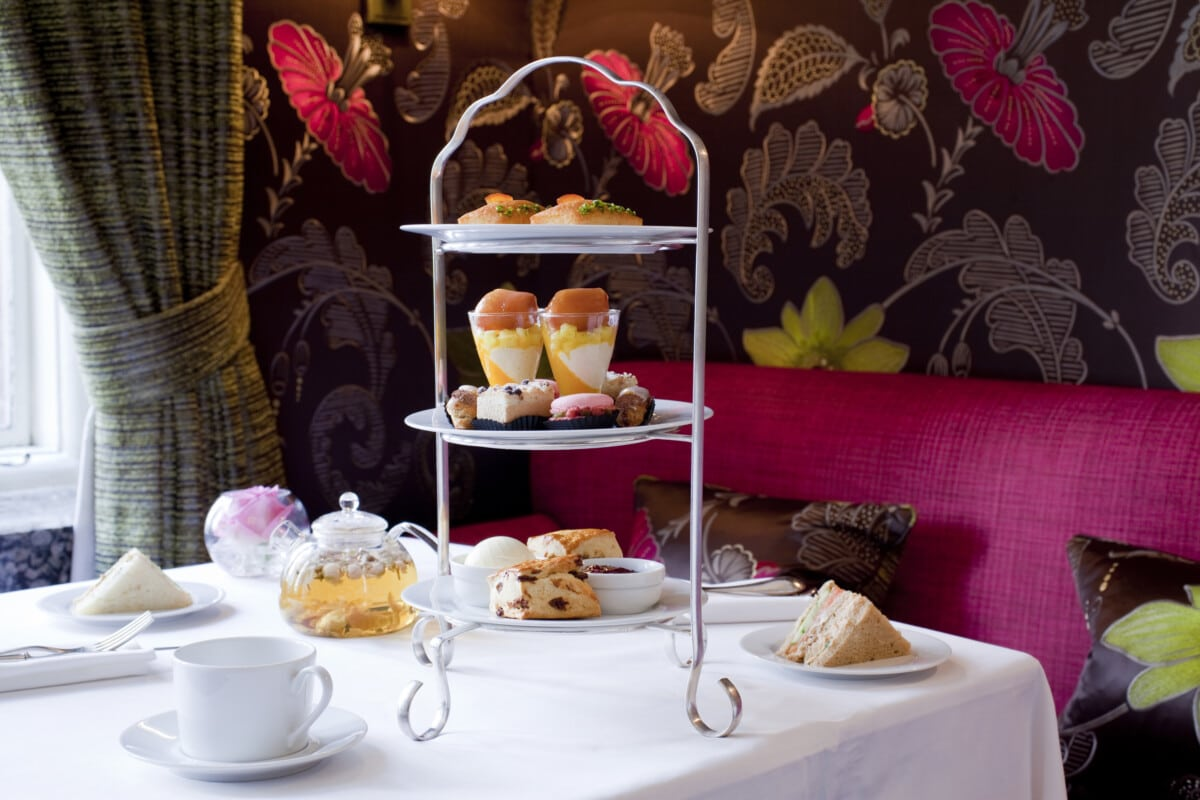 Afternoon tea at The Capital in London. Photo courtesy The Capital