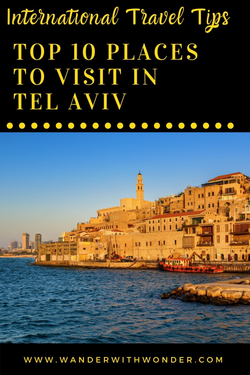 Are you visiting Tel Aviv and trying to find the best places to add to your itinerary? Then keep reading this complete guide to finding out the top 10 places to visit in Tel Aviv. Also known as The White City of Tel Aviv, this small yet lively city is loaded with cultural, historical, entertaining, and picturesque sites to see. There are lots of fun things to do. Long sandy beaches, museums rich in ancient architecture, and a gorgeous old port hold the attraction among those sightseeing options.
