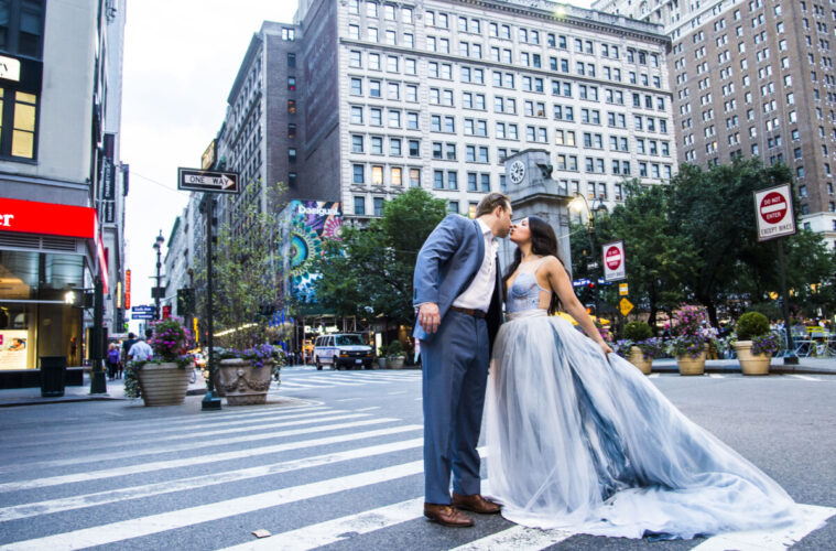 A wedding in New York City. Photo by lokbrahmbhatt via iStock by Getty Images
