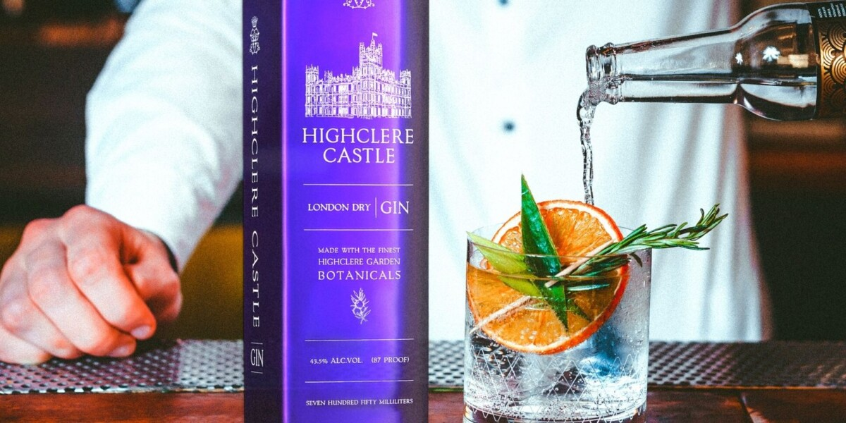 Spring Gin Cocktails: Cocktail Recipes Courtesy Highclere Castle Gin