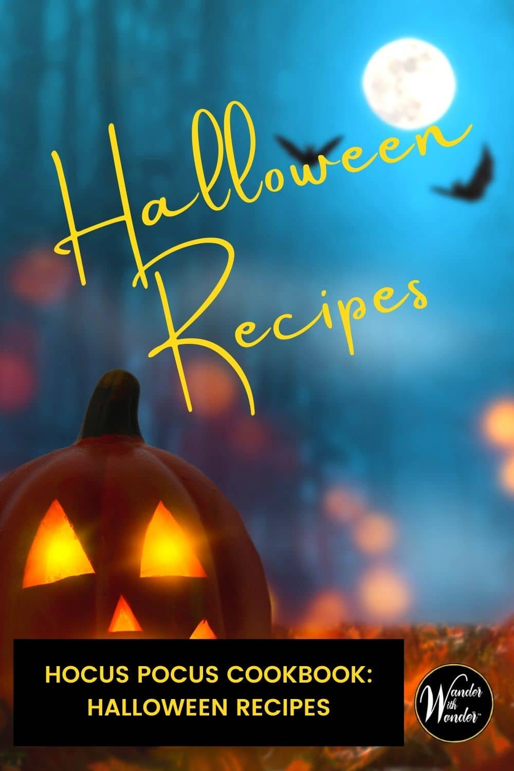 The Unofficial Hocus Pocus Cookbook is based on the cult-classic 1993 film Hocus Pocus. Halloween recipes within these pages—complete with color photos—will be the hit of the party this October!There are appetizer recipes, main dish recipes, fun fall cocktail recipes, and plenty of great Halloween party food and fun!